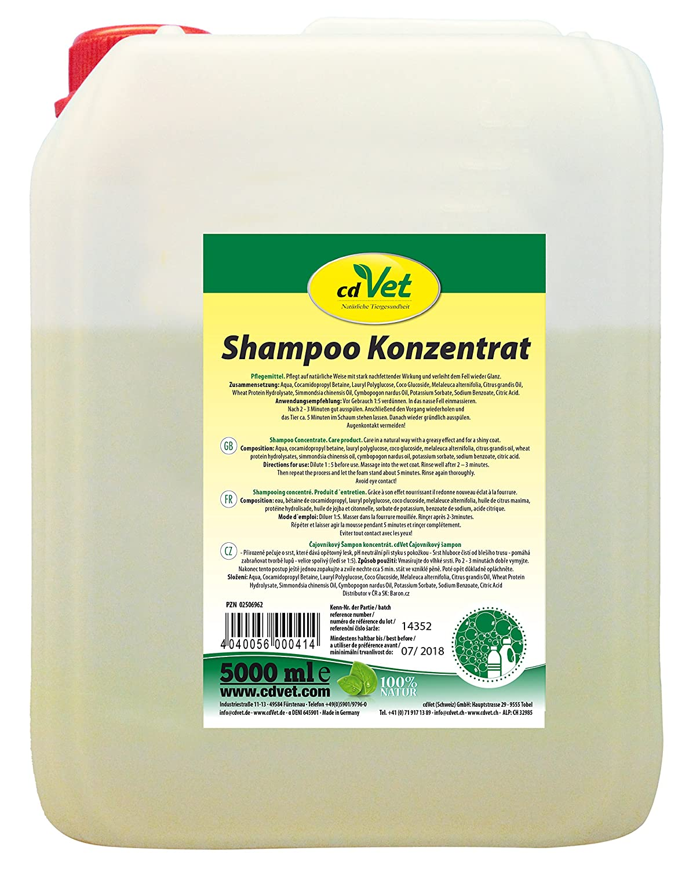 cdVet Naturprodukte Shampoo Konzentrat 5000 ml