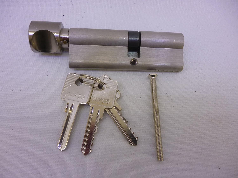 30// 10 mm 5 Stifte Türzylinder Abus Profilzylinder Schließzylinder