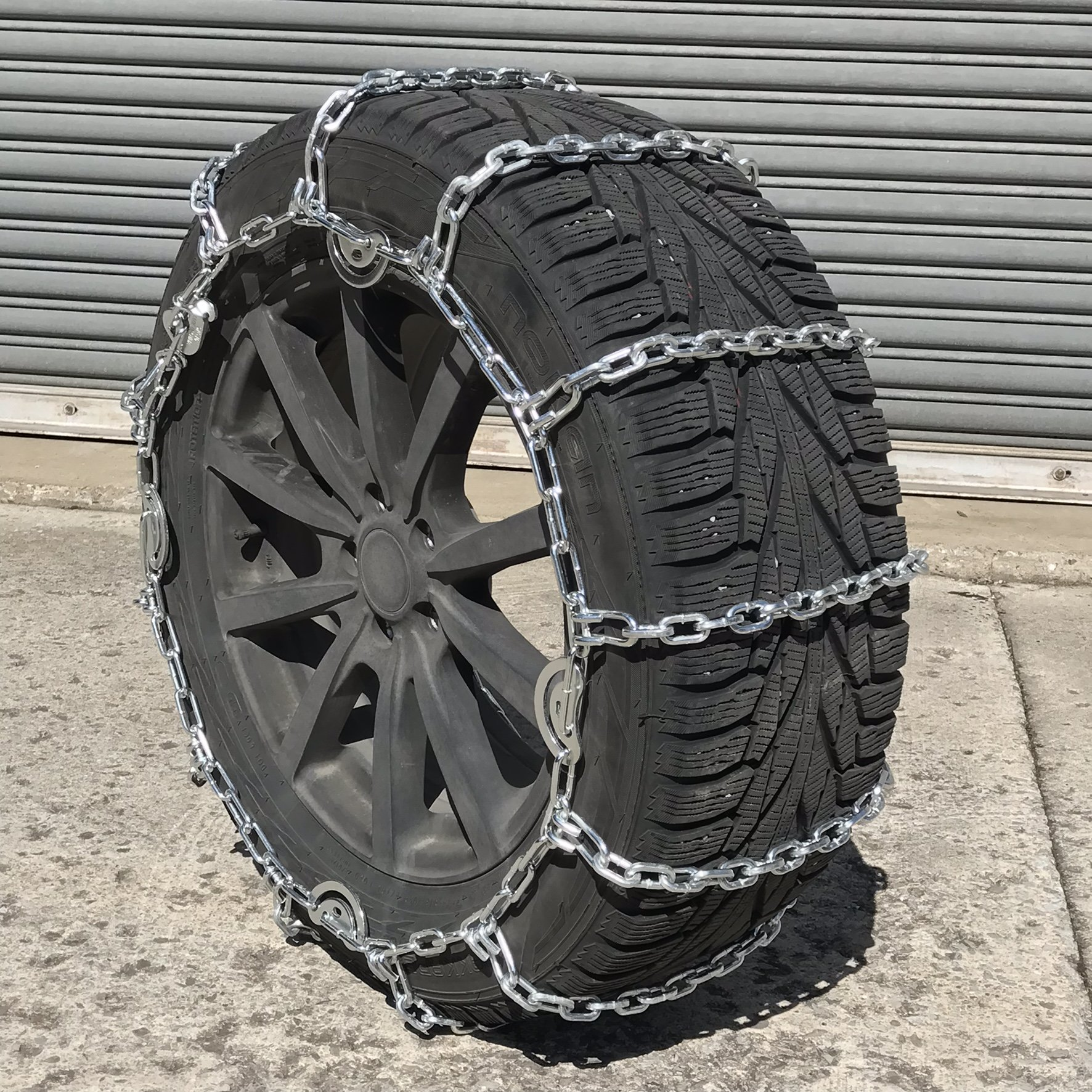 TireChain.com 2229sq Square Straight Link Truck Tire Chains with Cams, priced per pair by TireChain.com (Image #2)