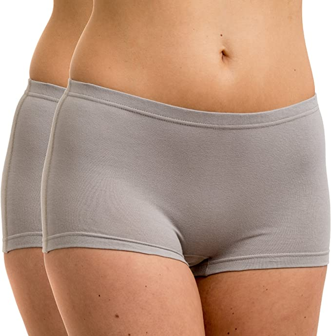 HERMKO 5700 2 Pack of Womens Briefs in Supple Cotton//Elastane
