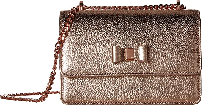 ff7e683281ff Ted Baker Drayaa Shoulder Bag rosegold  Amazon.co.uk  Clothing