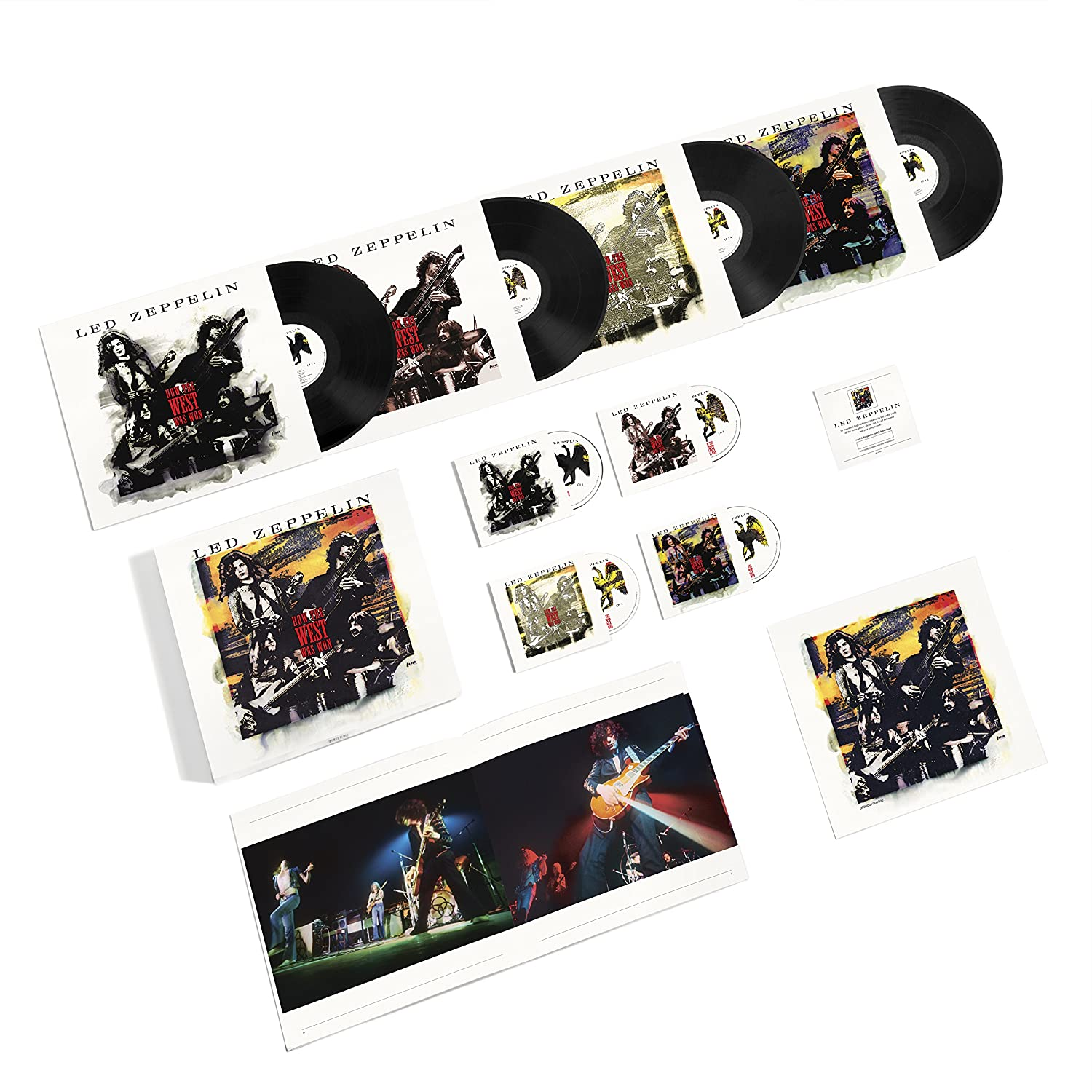 led zeppelin how the west was won 3cd4lp1dvd amazoncom music - Led Zeppelin Christmas