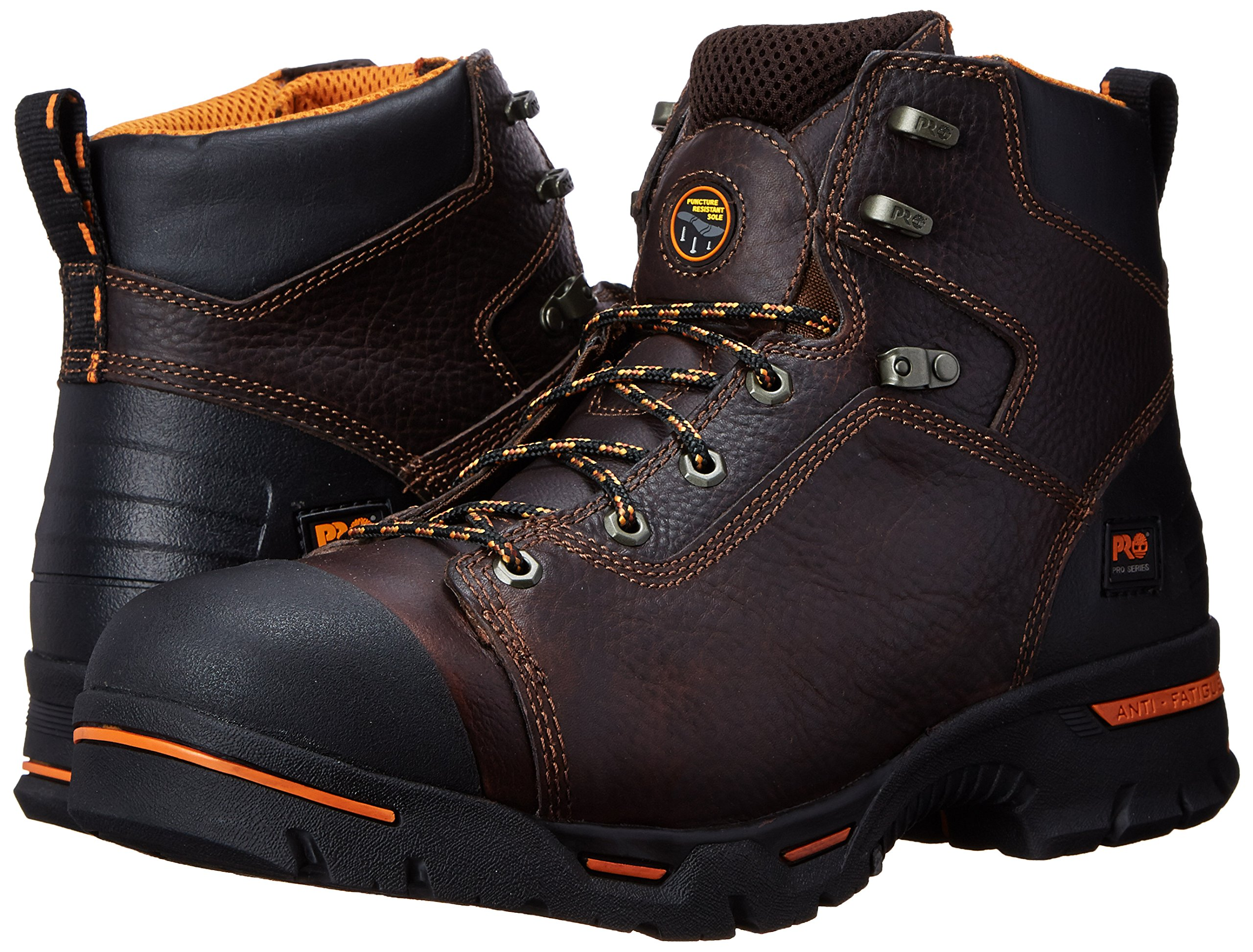 Timberland PRO Men's Endurance 6-Inch Soft Toe BR Work Boot,Briar,9.5 W US by Timberland PRO (Image #6)