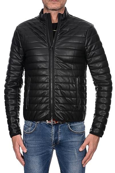 buy online 38304 2e850 ARMANI JEANS Giubbotto Uomo Biker Ecopelle, 6Y6B75 6EAAZ ...