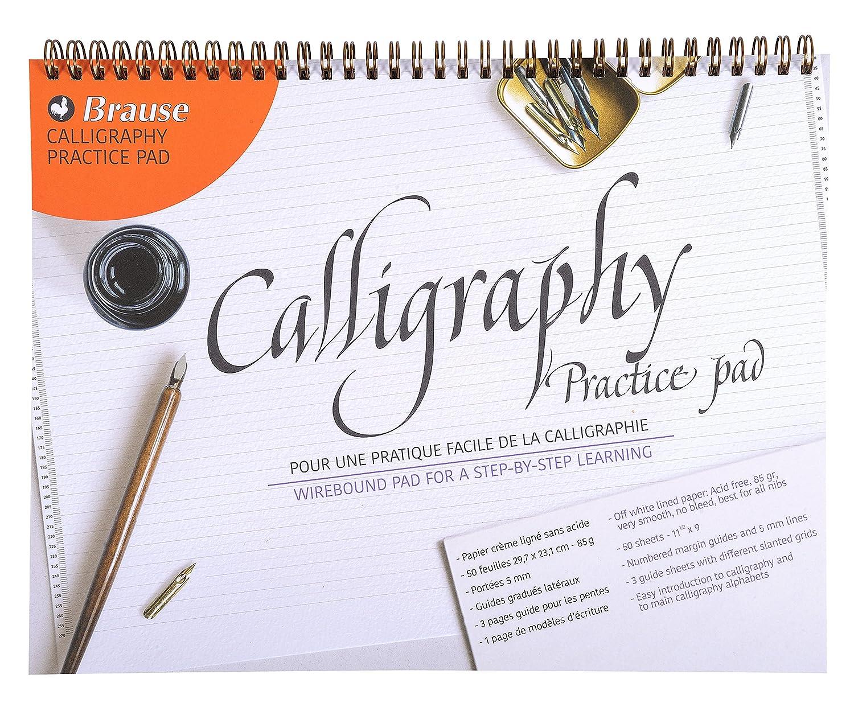 Brause 96450b bloque de caligrafía de aprendizaje A4