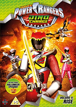 Image result for power rangers dino charge 4 rise dvd manga uk