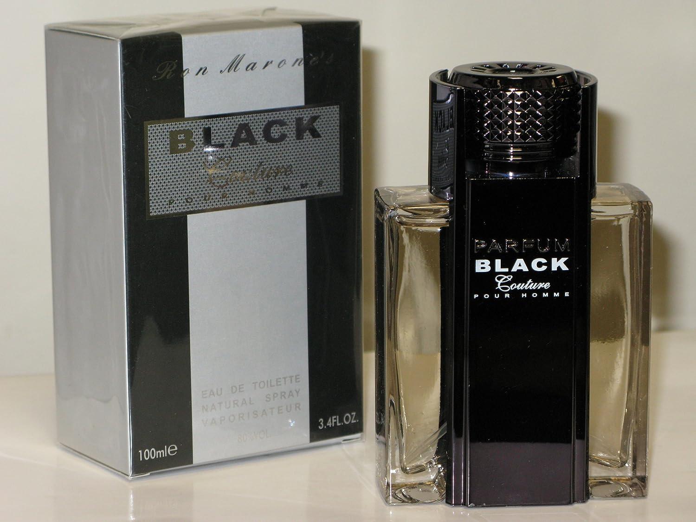 Ron Marones Black Couture Pour Homme 3.4 Oz / 100ml Eau De Toilette Spray for Men by Ron Marones