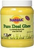 Nanak Pure Desi Ghee, Clarified Butter, 56-Ounce Jar