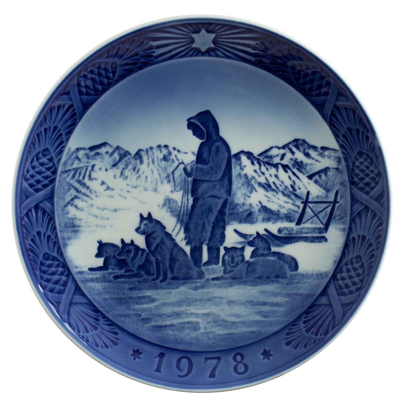 Ceramiche Di Copenaghen Prezzi.Royal Copenhagen Piatto Di Natale 1978 Originale Porcellana Prima