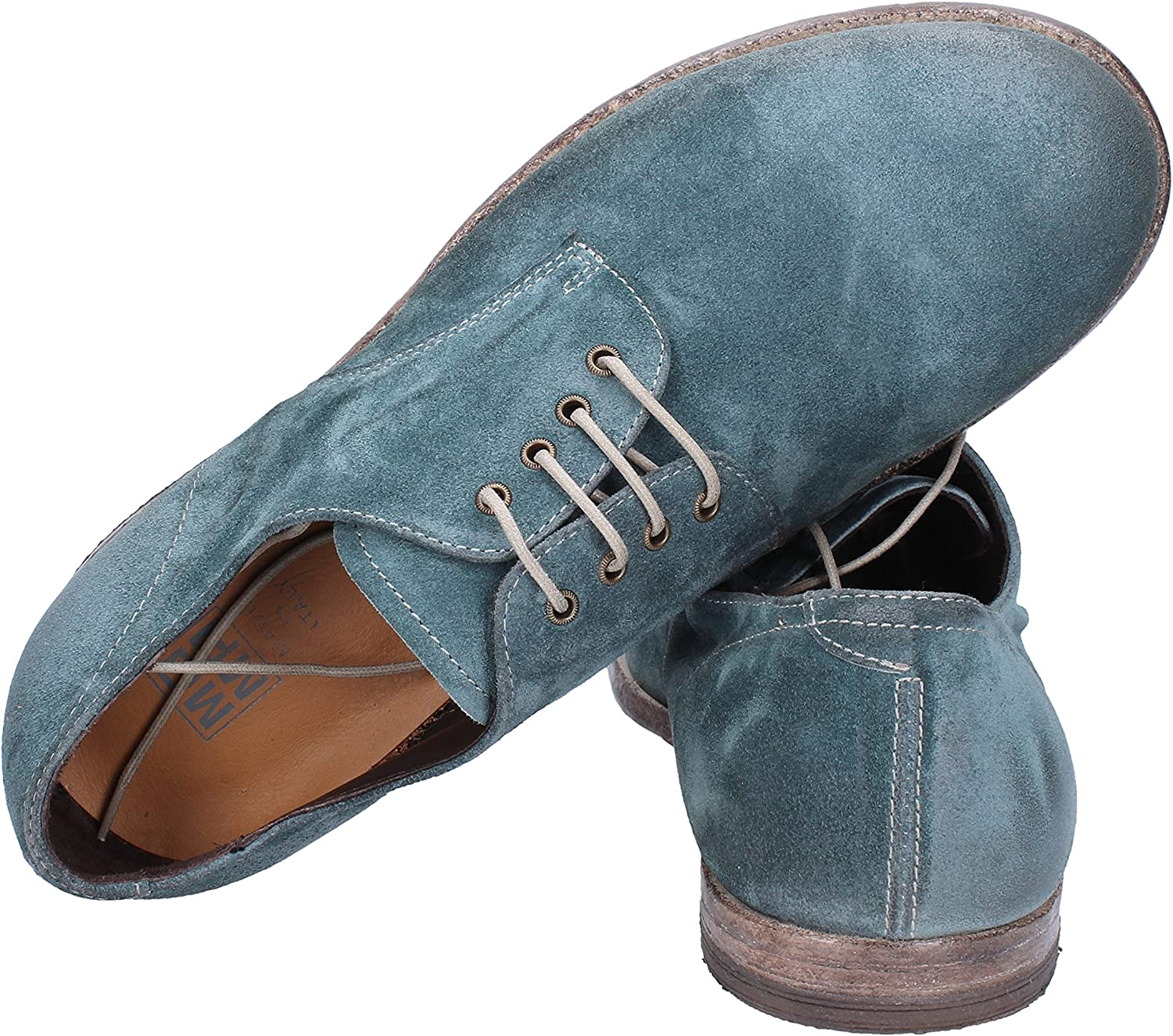MOMA Oxfords-Shoes Mens Suede Green