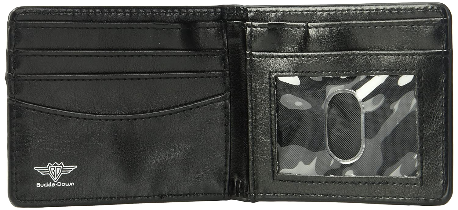 Buckle-Down Wallet Flash Chest Logo Accessory