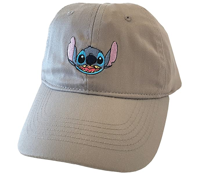 b1c607e8663c2 ... coupon code for disney lilo and stitch ohana embroidered baseball hat  cap grey 8b5d5 8d862