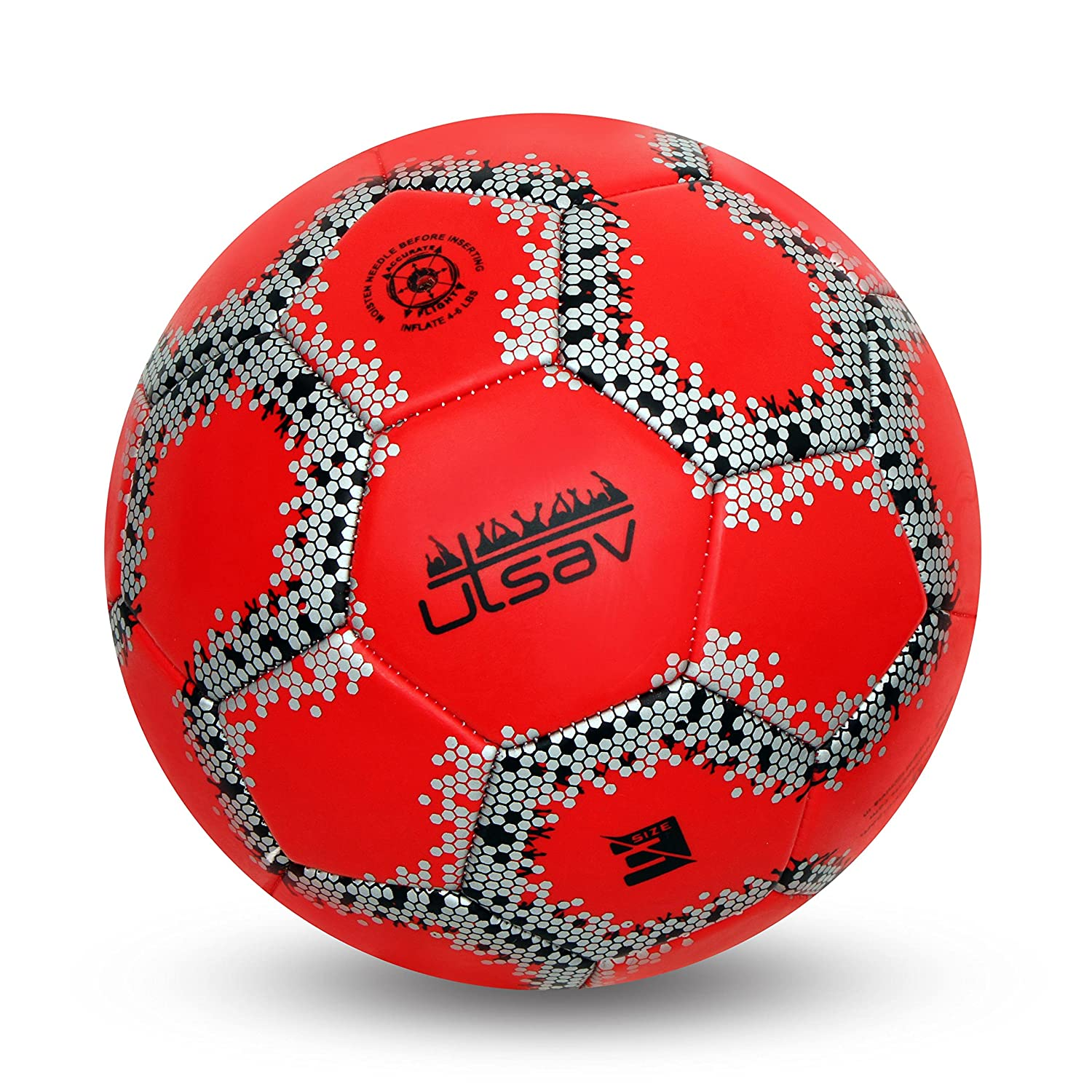 cb270d1aef50 Buy Nivia Utsav Machine Stitch Football Size 3 Online at Low Prices in India  - Amazon.in