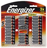 Energizer AA Batteries, MAX Alkaline, 30 Pack