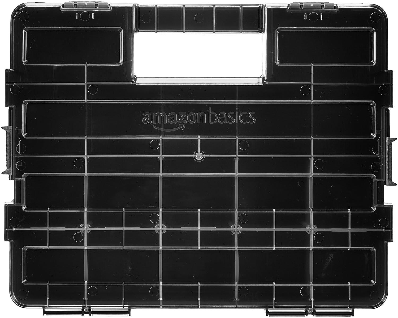 Basics - Organizador de herramientas, compartimentos ajustables AMZ1714