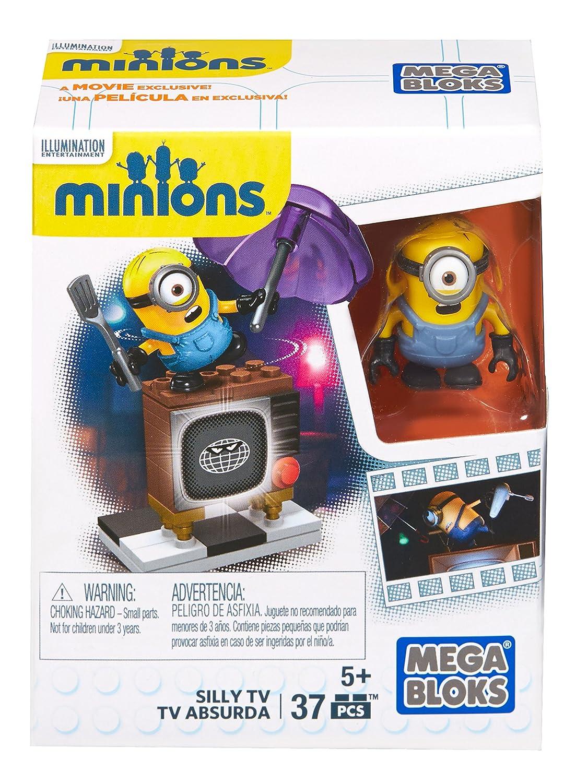 Mega Construx Minions Silly TV Mega Bloks CNF49
