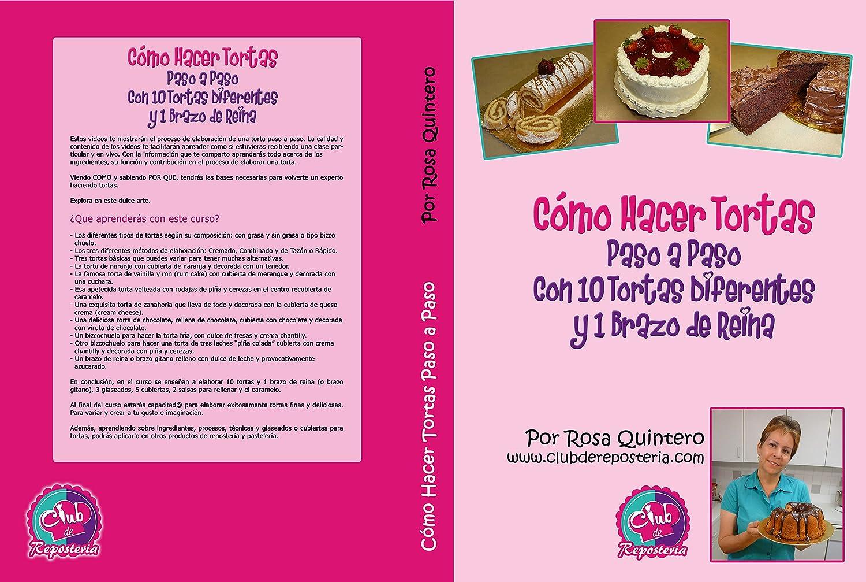 Amazon.com: Como Hacer Tortas Paso a Paso - Completo Video Curso: 10 recetas de tortas y 1 brazo de reina: Club de Reposteria: Movies & TV