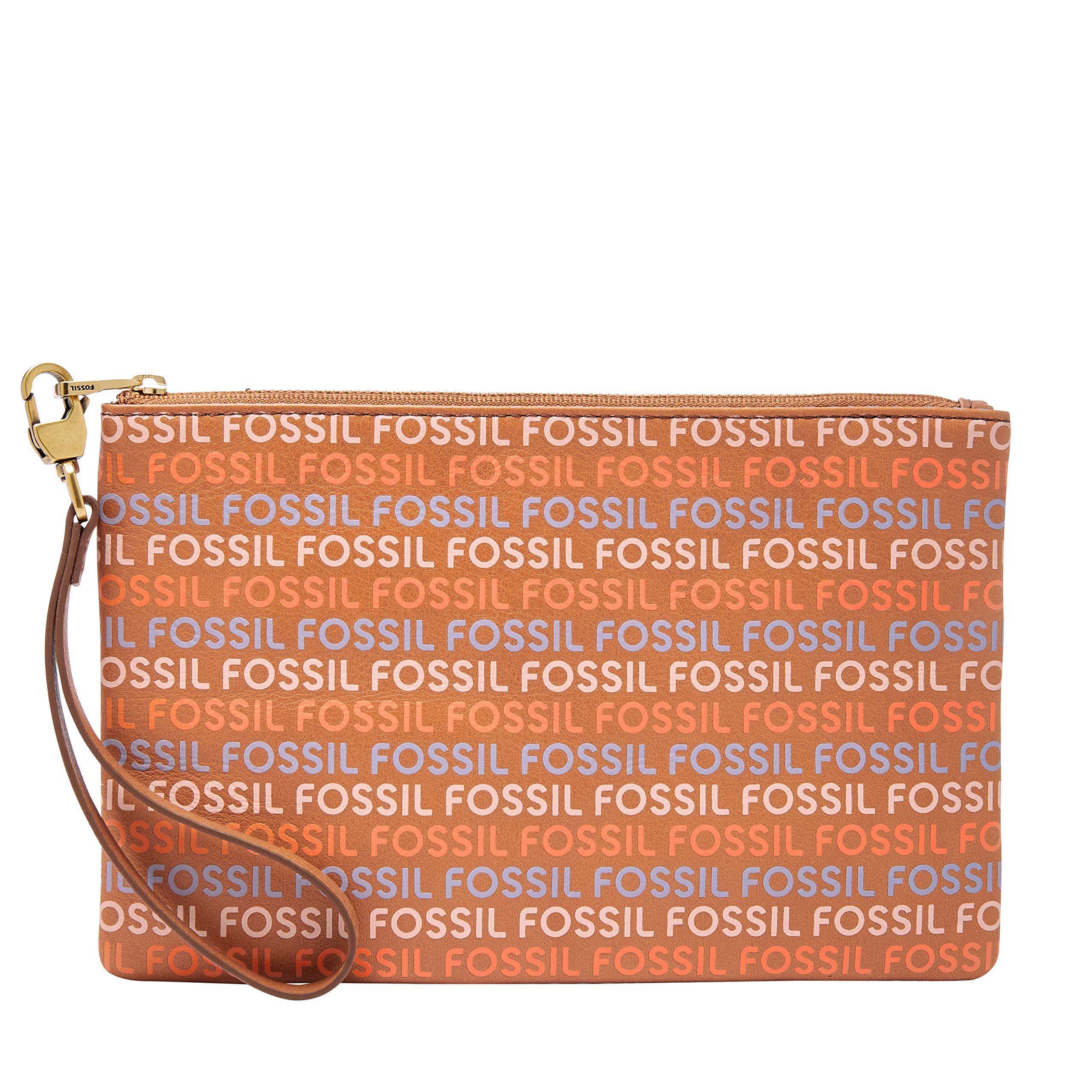 Fossil Wristlet Tan