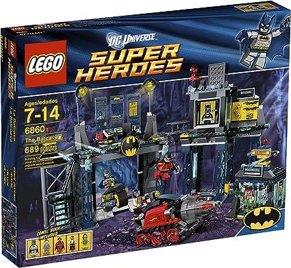 SUPER HEROES BATMAN LEGO 6860 MINIFIG // MINIFIGURE