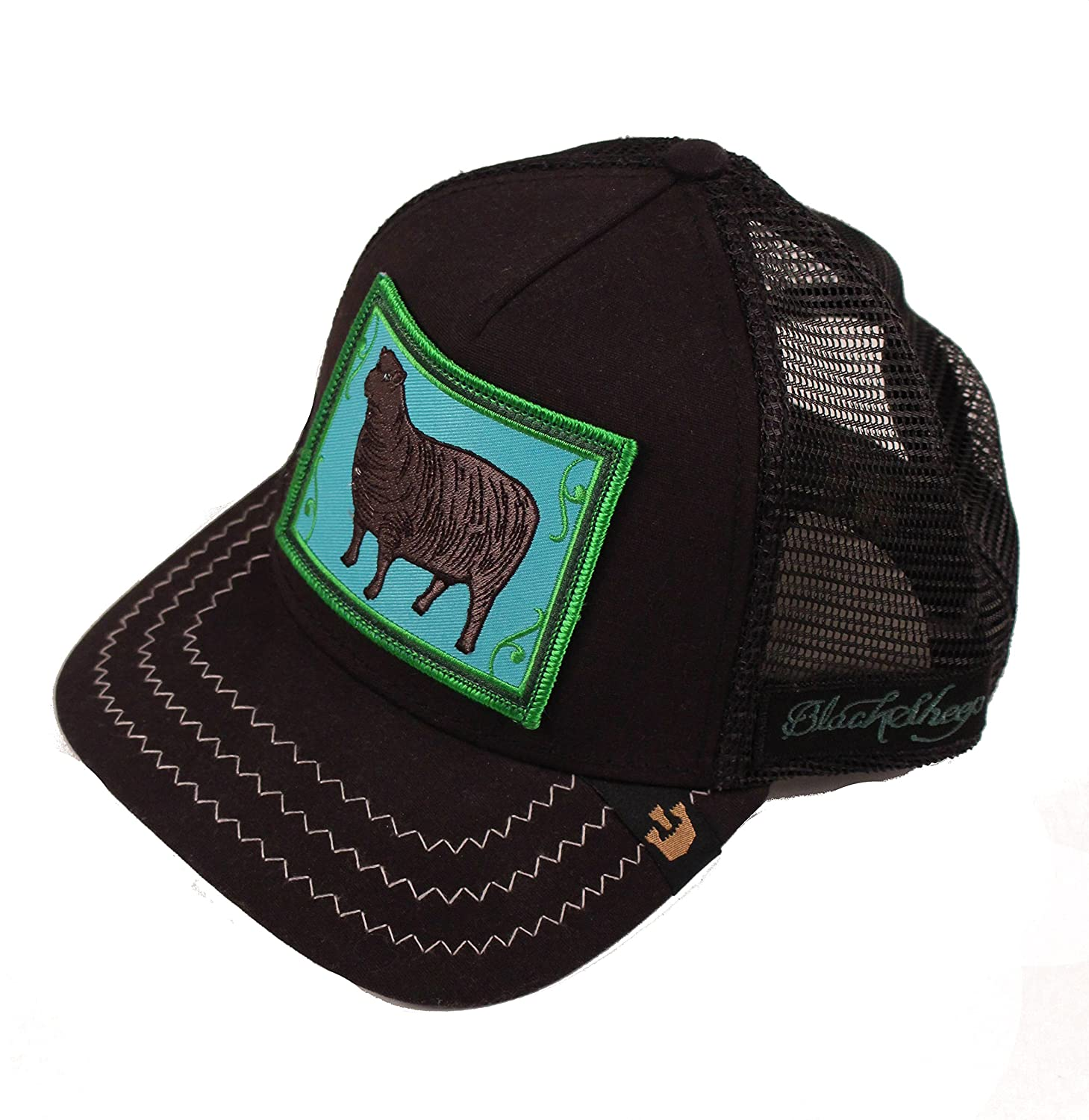6137c709ad1fb Animal Farm - Black Sheep Trucker Cap at Amazon Men s Clothing store