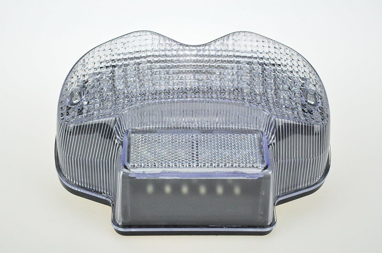 Transparent Moto Led Stop /& Feu Arri/ère avec Int/égr/é Clignotants pour Suzuki 2000-2005 Bandit 600 2001-2005 Bandit 1200 1200S