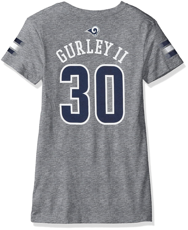 『4年保証』 NFL Name Girls 7 – 16トッドガーリーII LA RamsメインストライプVネックPlayer & Name & NFL Number半袖Tシャツ、大/14、ヘザーグレー B06VWZWDYY, 木枠屋:4964a739 --- a0267596.xsph.ru
