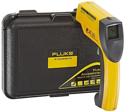 Fluke 63 Handheld Infrared Thermometer, 9V Alkaline Battery, -25 to 999 Degree F Range