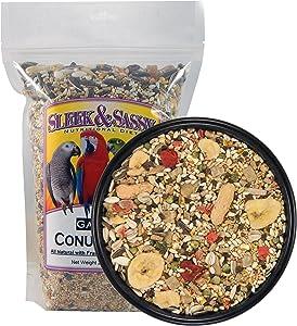 SLEEK & SASSY NUTRITIONAL DIET Garden Conure Parrot Food