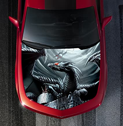 Amazon com: Avery H29 DRAGON - HOOD WRAP - Wraps Decal Sticker Tint