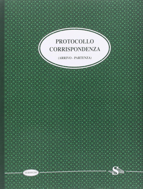 Semper Multiservice SEB000200 Registro Corrispondenza Arrivata/Partita Buffetti