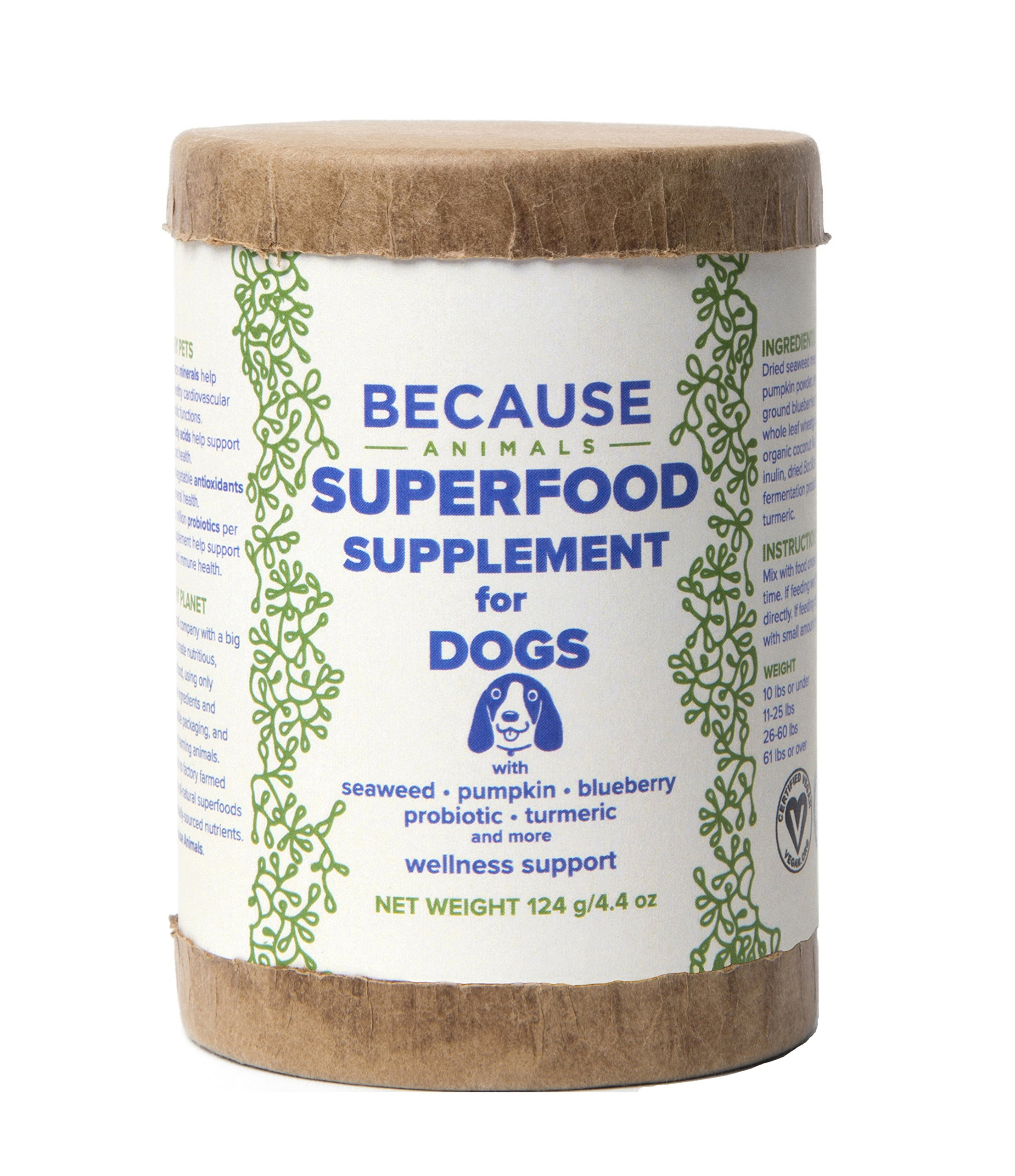 Because Animals Superfood Supplement for Dogs by Because Animals (Image #1)