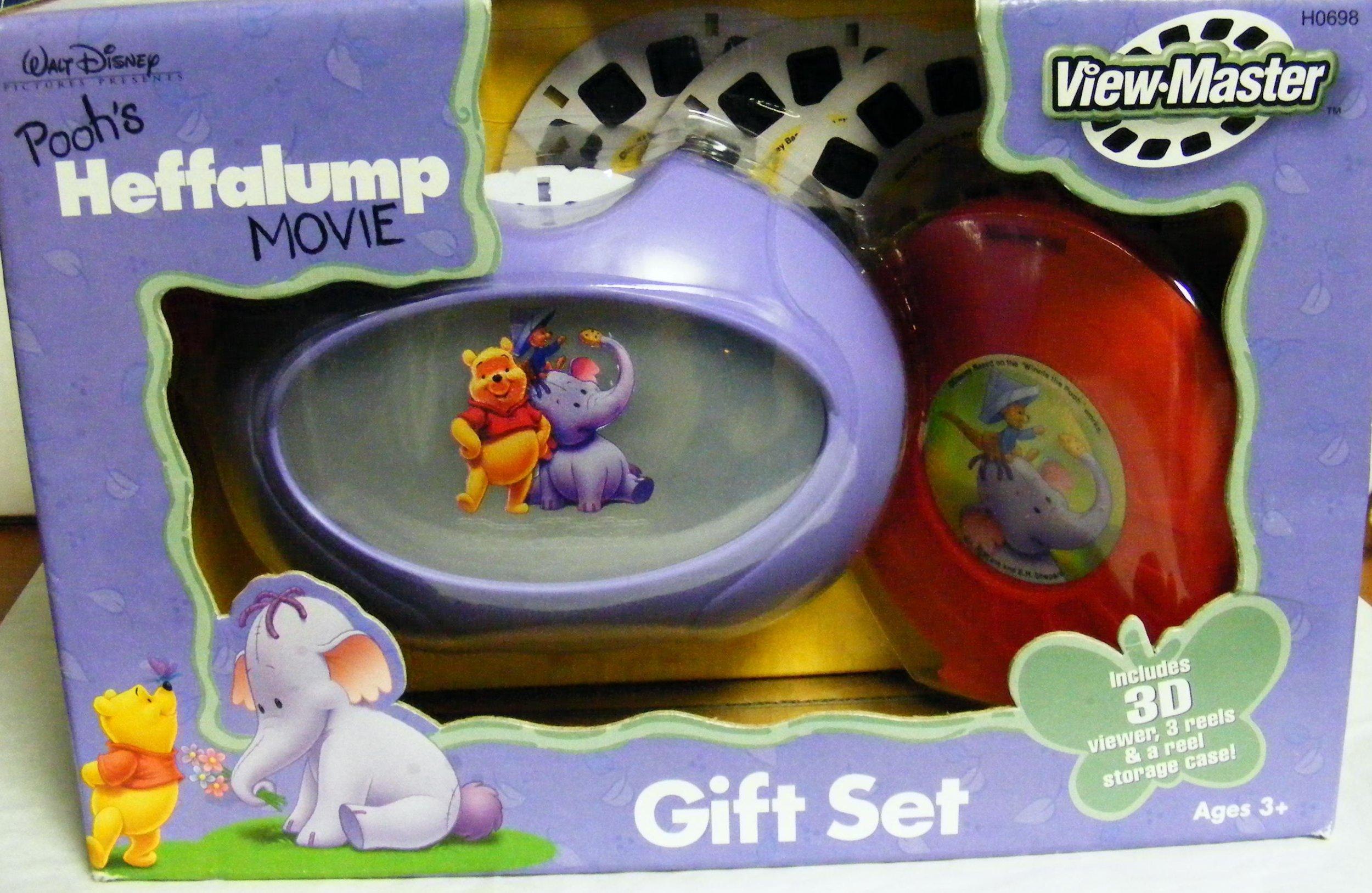 Pooh's Heffalump ViewMaster Gift Set