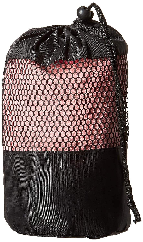 Angelbeauty Hot Yoga Handtuch mit Tragetasche – Mikrofaser rutschfeste Skidless Yoga Matte Handtücher für Yoga, Bewegung, Fitness, Pilates, rose