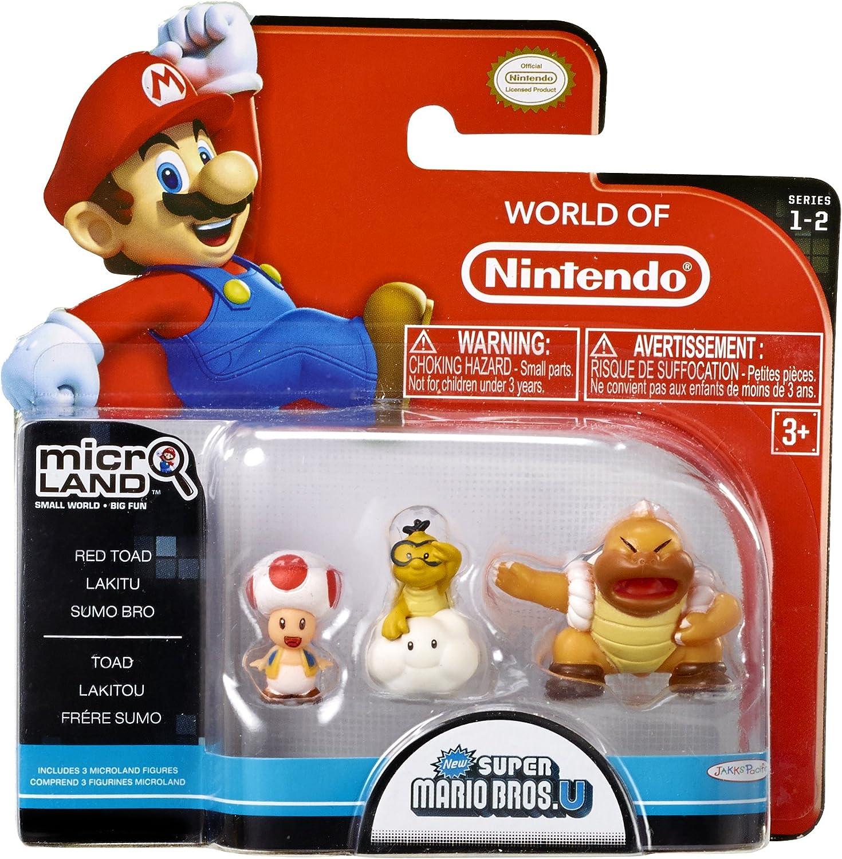 Nintendo - Figura Red Toad, Lakitu, Super Sumo Bros, 2 cm: Amazon.es: Videojuegos