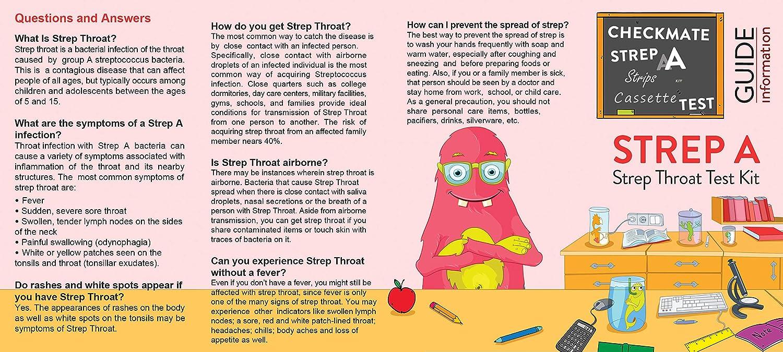 Cvs test strip for strep throat photos — photo 13