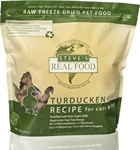 Steve's Real Food Freeze-Dried Raw Nuggets 1.25# (Turducken)