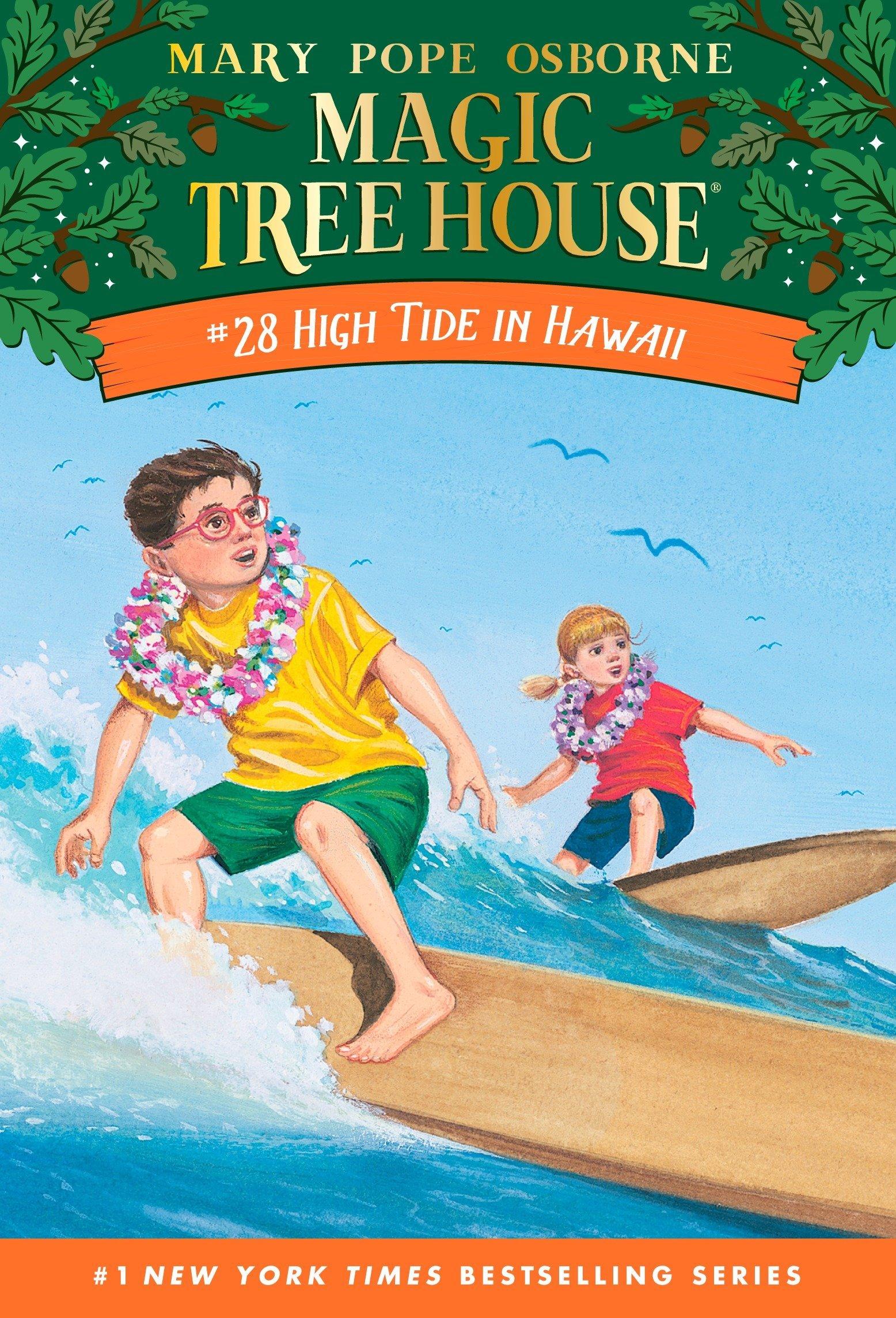 Magic Tree House #28 High Tide In Hawaii [Idioma Inglés]