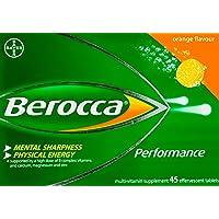 Berocca Performance Effervescent, Orange, 45ct