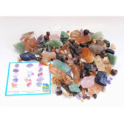 BONANZA TREASURE BOX Home Gem Mining Kit 6500+ Carats of Gems: Industrial & Scientific
