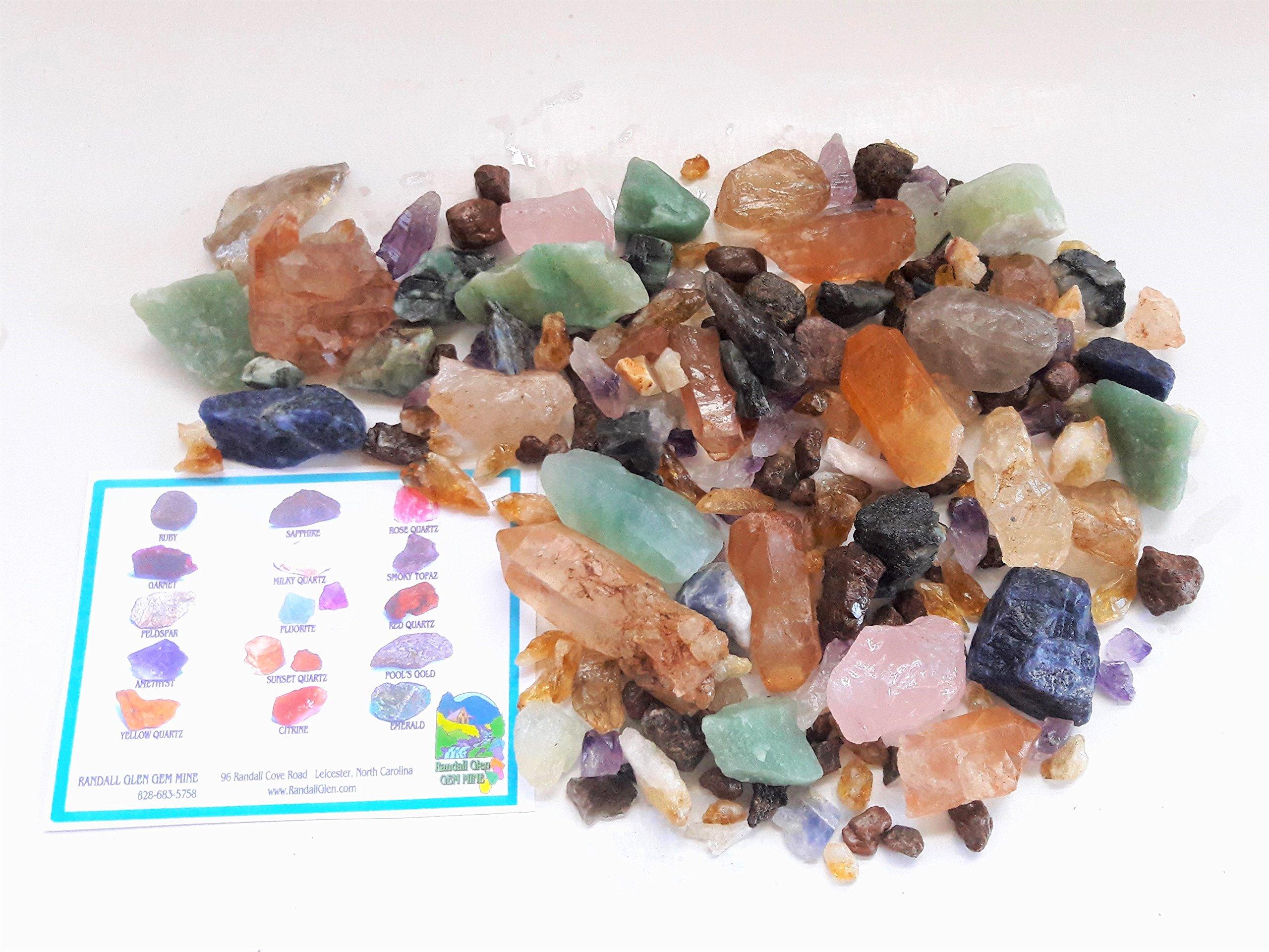 BONANZA TREASURE BOX Home Gem Mining Kit 6500+ Carats of Gems
