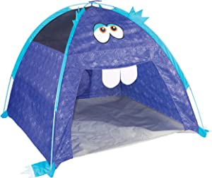 Pacific Play Tents Furry Little Monster Dome Tent, Purple