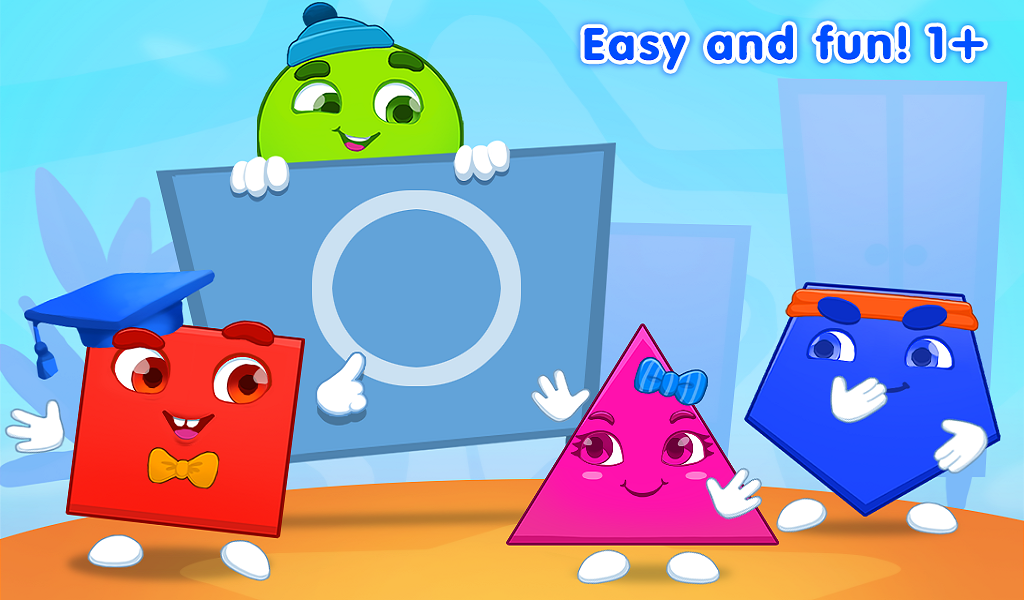 Learning Geometric Shapes For Toddlers