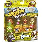 The Ugglys Pet Shop! Ugly Pet 8er Packung [UK Import]