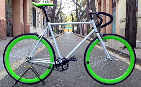 Mowheel Bicicleta Monomarcha Pista Fixie-B clásica T-58cm: Amazon.es: Deportes y aire libre
