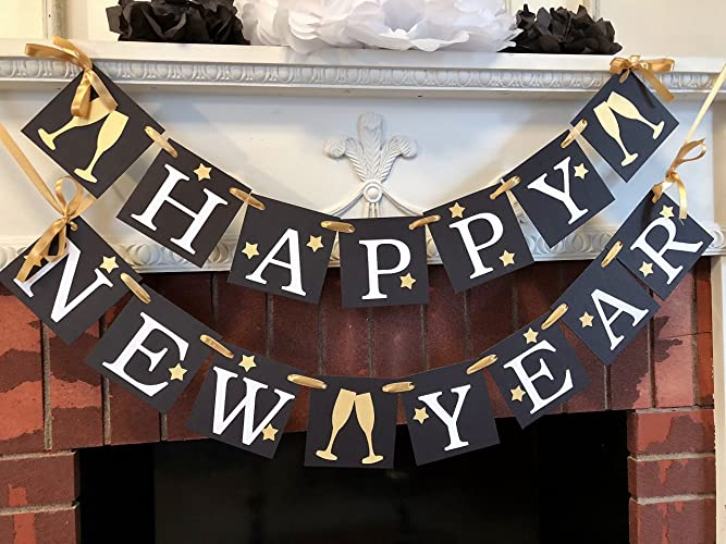 happy new year banner new years eve decorations happy new year decorations new