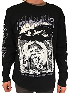Earache Records Woods of Ypres - Woods 5 Grey Skies and Electric Light Long Sleeve T