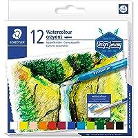 STAEDTLER 223 C12 ST Watercolour Crayons 12-Pieces