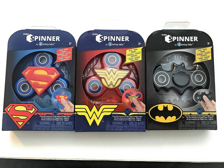 Zuru Spinners ==> Batman, Wonder Woman, Superman