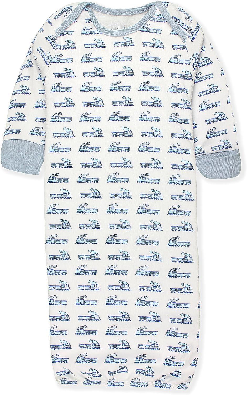 Maybe Baby Kids Batas de algodón con puños de mitones y hombros extensibles que se cambian fácilmente para bebé-niños Paquete de 3 0-6 Meses Entrenar: Amazon.es: Ropa y accesorios