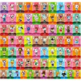 Linkinbot 72 Pcs ACNH Amiibo Cards for Animal Crossing New Horizons with Crystal Case
